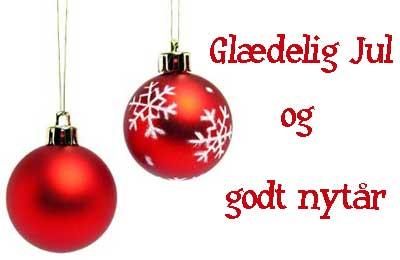 Glædelig jul og godt nytår 2015